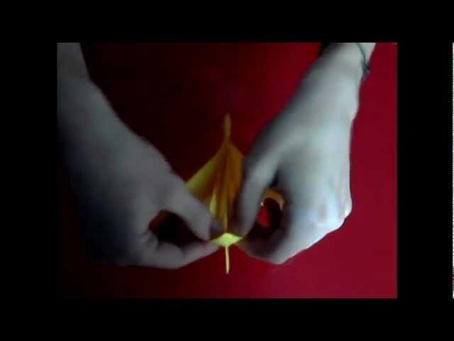 Origami Fleur d'Orchidée