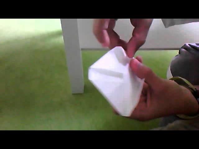 Origami lumière venu d'un coeur