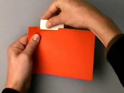 Origami papercutter