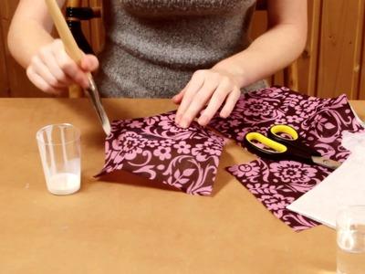Technique de bricolage avec des serviettes