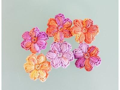 Tuto : Comment faire une jolie fleur gonflée au crochet