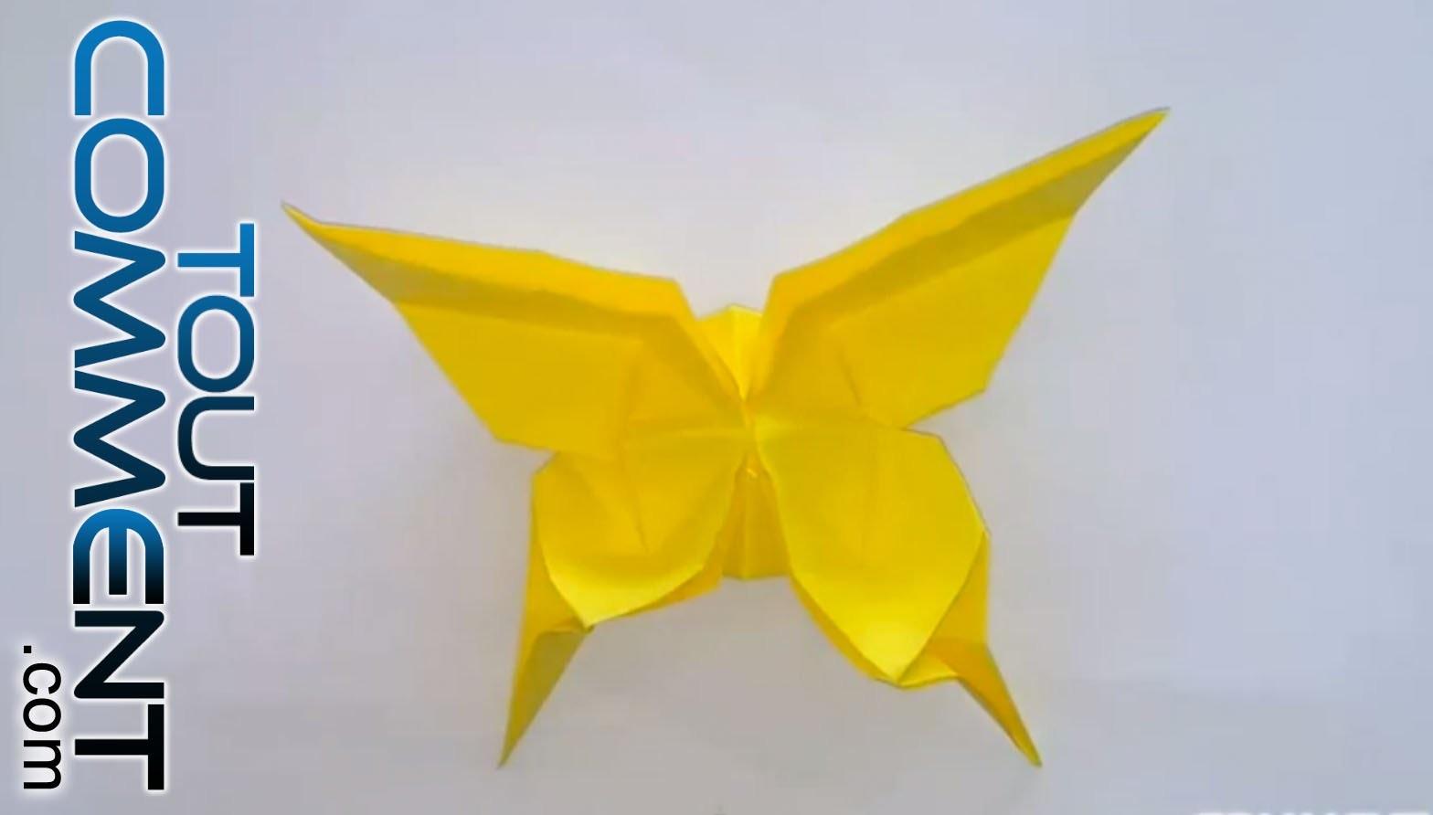 Tuto Origami Papillon