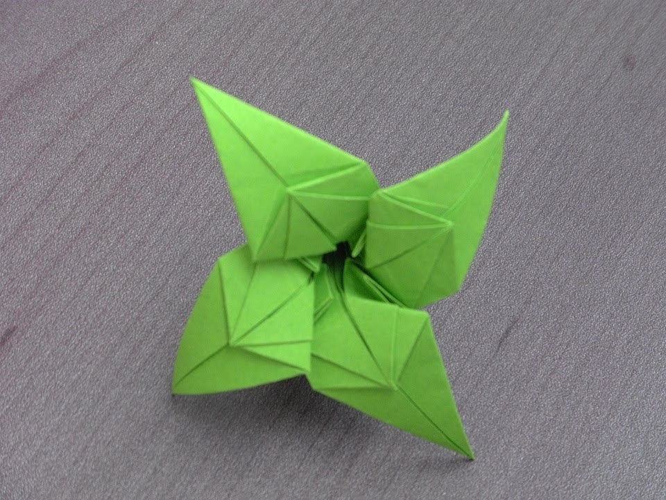 "Tutoriel Origami Flower - ""Alice"""