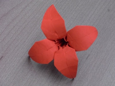 "Tutoriel Origami Flower - ""Saly"""