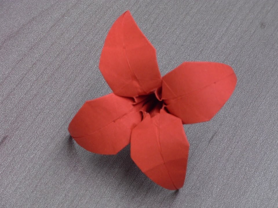 Tutoriel Origami Flower -