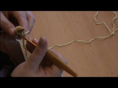 {Crochet} Broomstick stitch