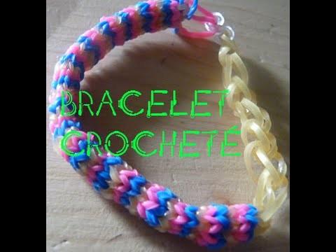 Rainbow Loom : Bracelet au Crochet
