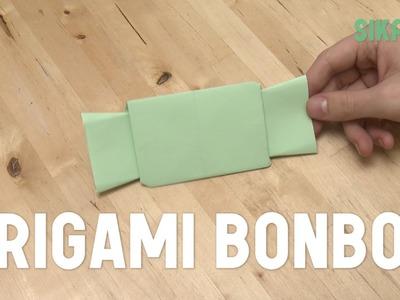 Origami : Bonbon en papier - HD