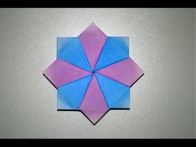 Origami - Etoile octogonale [Senbazuru]
