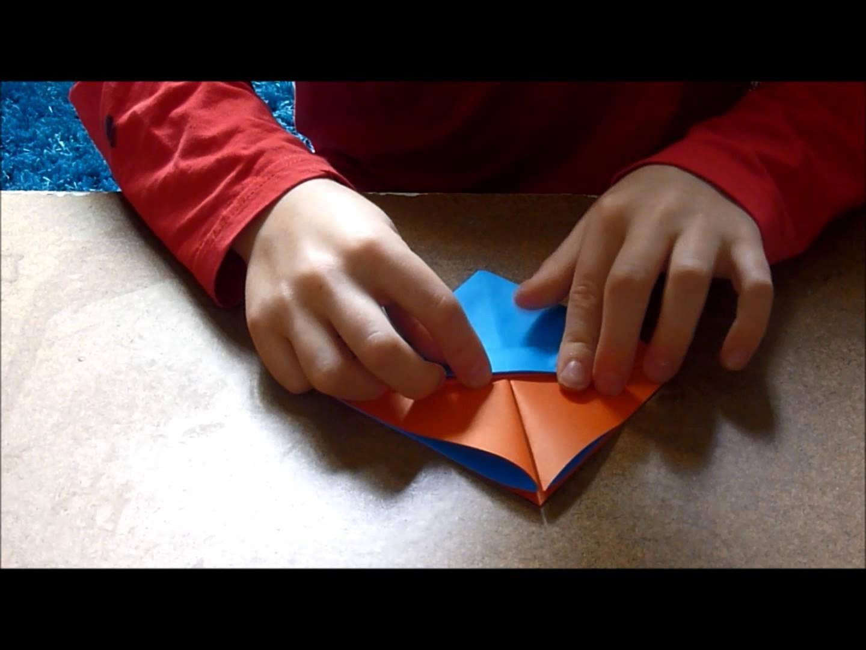 TUTO Origami. Le panier pascal