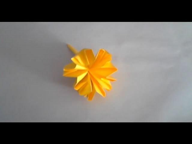Fleur Origami Carnation Flower