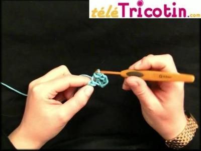 COURS COMPLET : Le Crochet - maille coulée MC