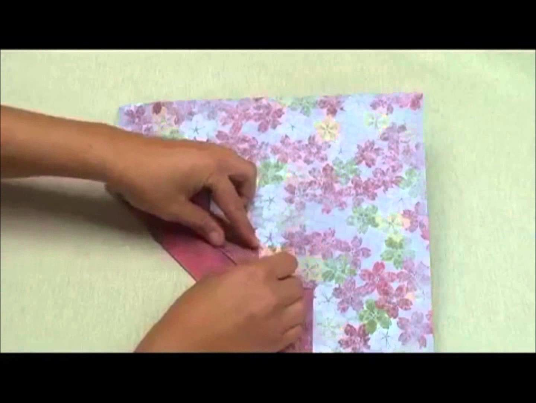 Créer une pochette cadeau en origami