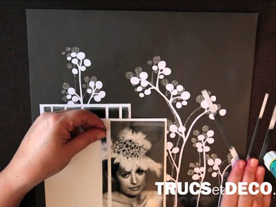 Méthode de la mosaique en scrapbooking - Tutoriel par trucsetdeco.com