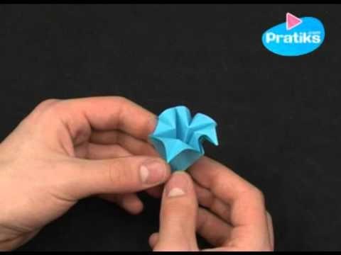 Origami : Comment faire une fleur en papier (facile)