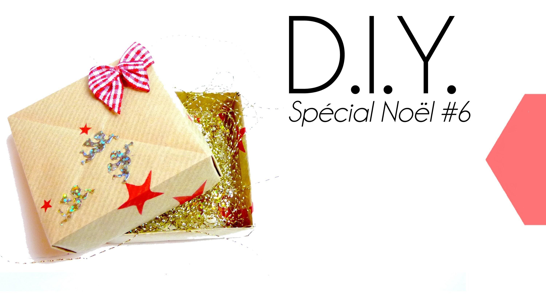 Tutoriel - DIY Special Noël #6 : Faire des paquets cadeaux originaux - Boite origami