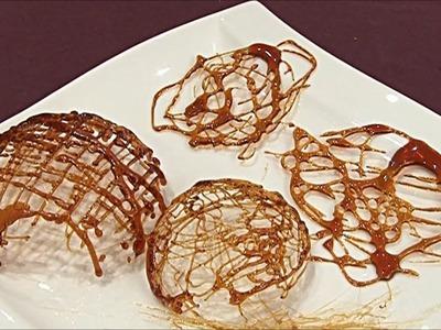 Décors en caramel : coques et cheveux d'ange : la recette - 750 Grammes