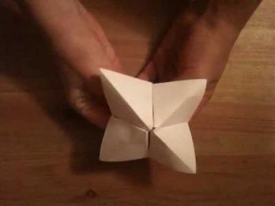 Faire un jeu en origami - Fabriquer une cocotte en papier
