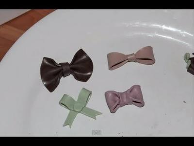 Tutoriel : Comment réaliser 4 noeuds différents en pâte Fimo