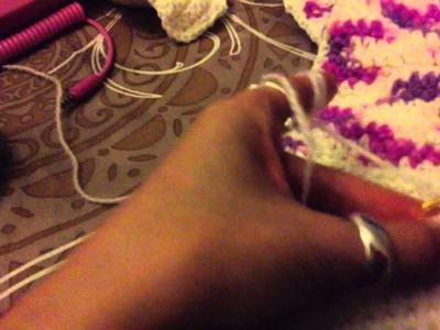Assembler au crochet - Réaliser une diminution