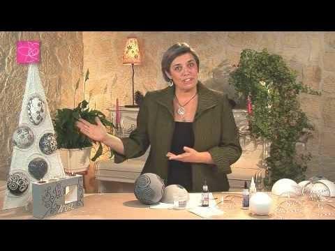 Cr er des boules de no l my crafts and diy projects - Creer des boules de noel ...