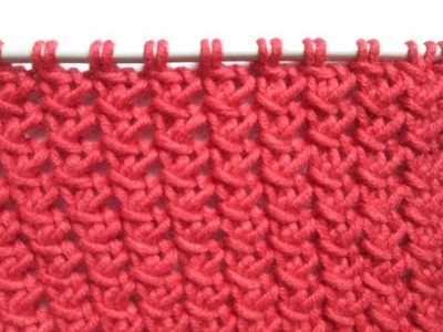 TUTO TRICOT APPRENDRE A TRICOTER LE POINT DE PETITE CLOTURE ; POINT DE TRICOT FANTAISIE FACILE !!!