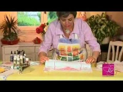 Customiser vos textiles à l'aide de pochoirs