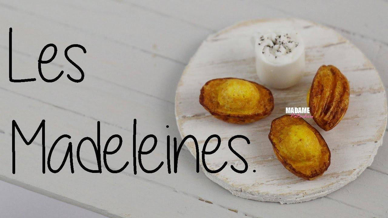 Les Madeleines (Tuto Fimo.Polymer clay Tuto)