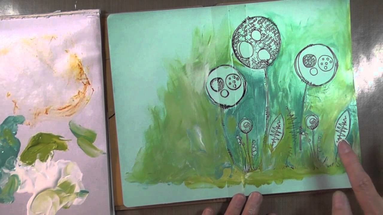 OTF: journal d'artiste avec les Primary Elements Art Journaling