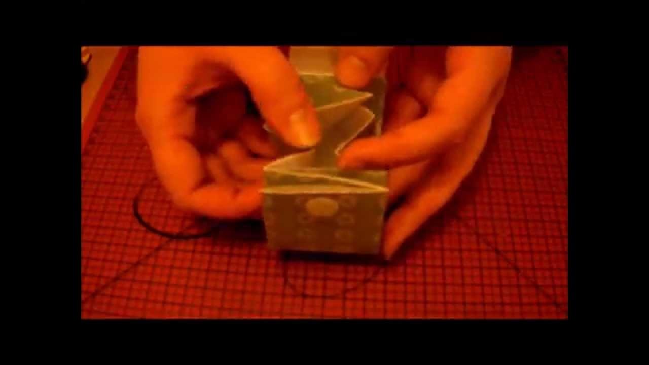 Tuto petite bourse en papier (how to make a paper purse)