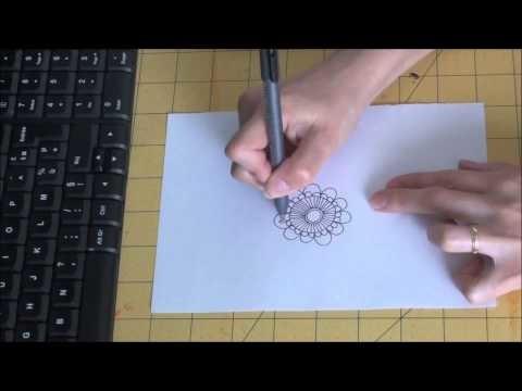 Doodle flower 1