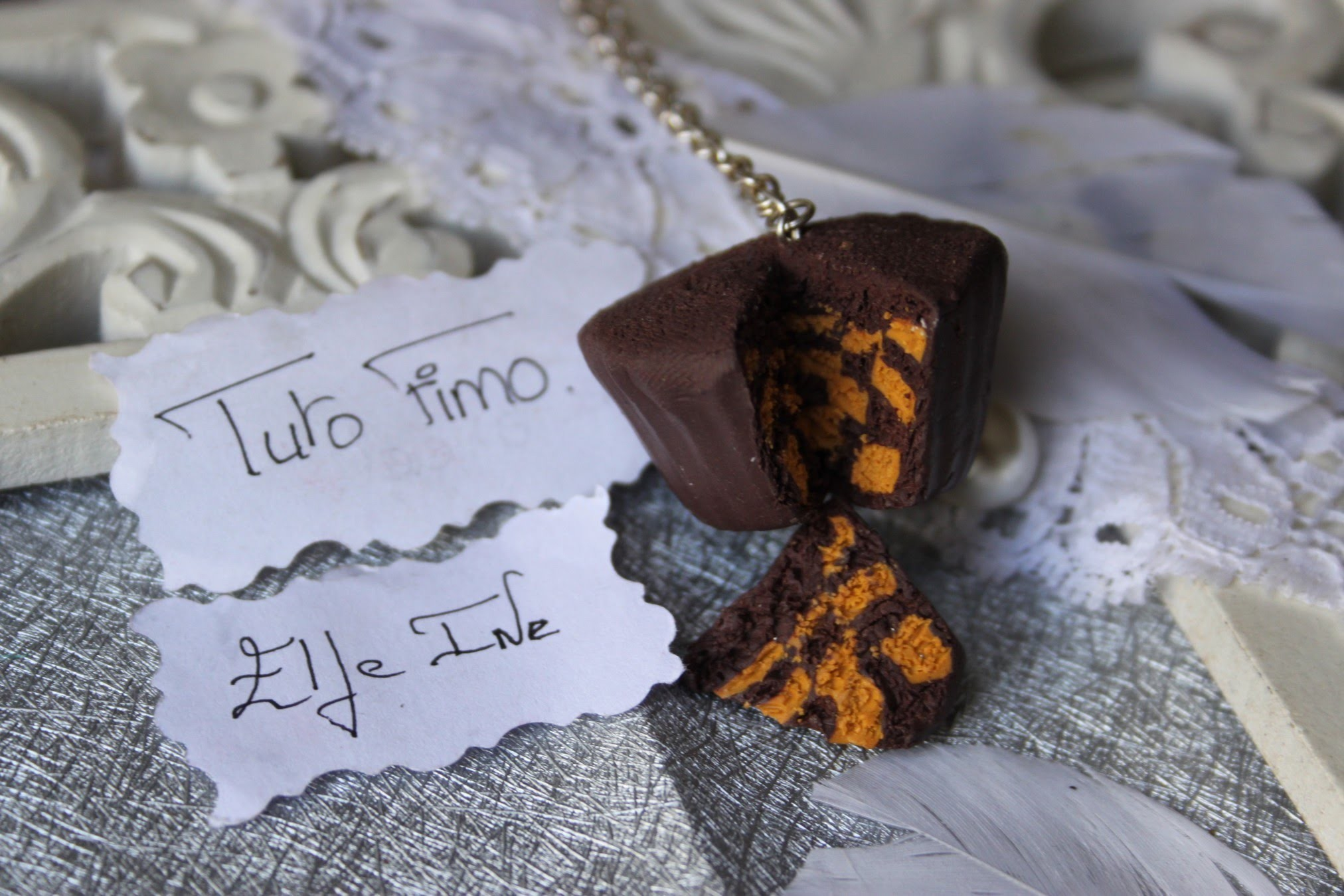 [♥✿ Tuto Fimo : cupcake damier ✿♥] ~ [♥✿ Polymer Clay Tutorial : cupcake checkerboard✿♥]