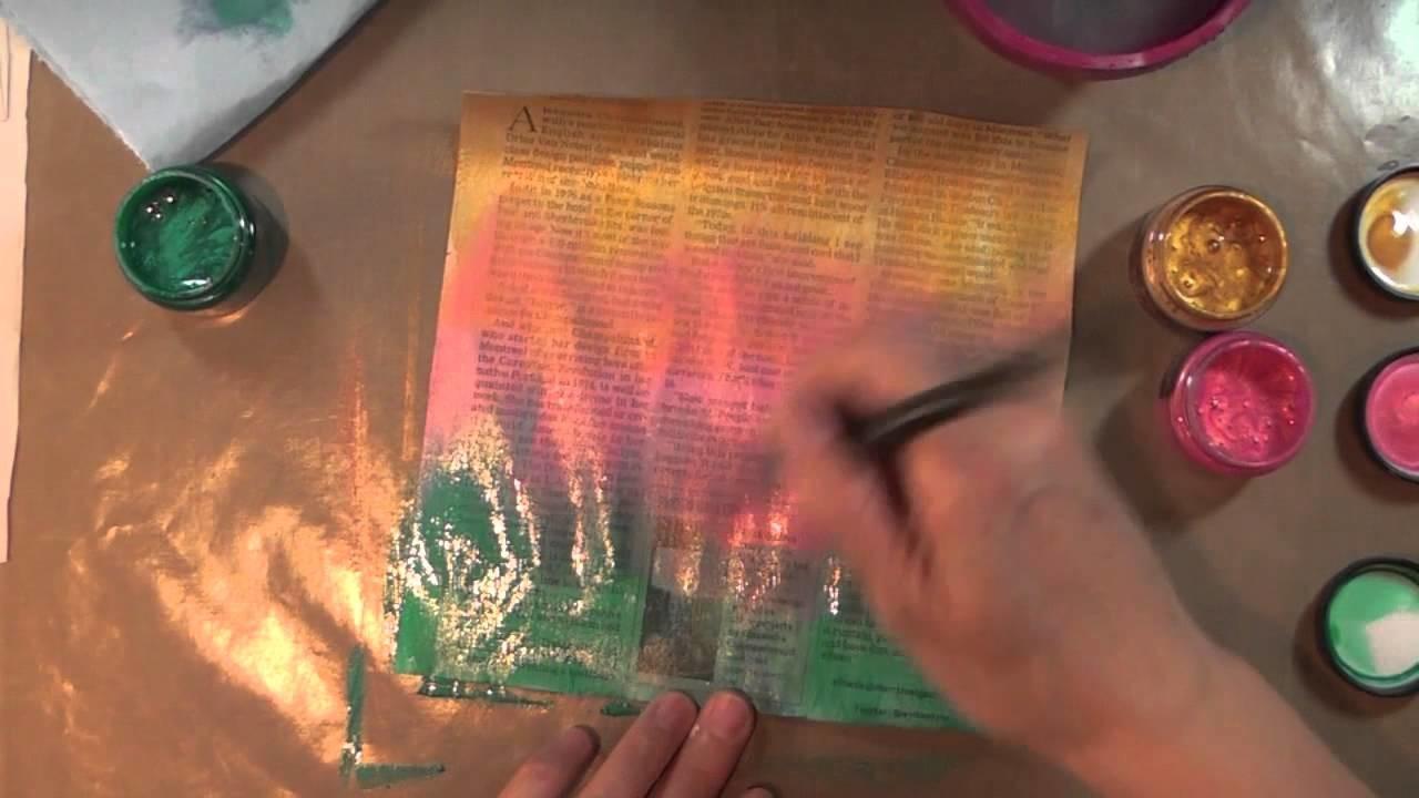 Art Journaling 101 - Episode 4, Part 1
