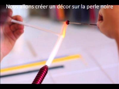 Comment faire une perlede verre filé