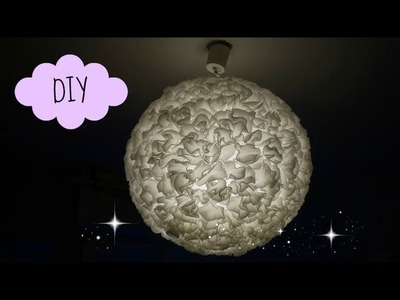 DIY #17 ❤ Suspension Boule à Papier. Paper Lantern ❤