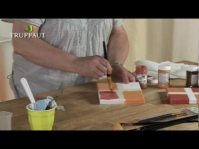 DIY déco : peinture effet terre cuite