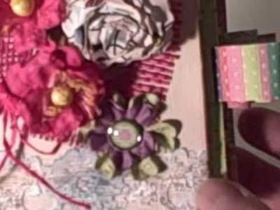 Flowers and Scrapbooking