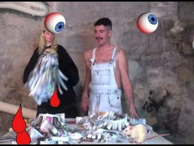 """Les Tutos du Carnaval """" Costumes monstres #1"""", vidéos par Charlie Le Mindu"""