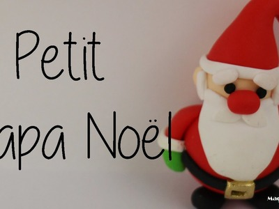 Petit Papa Noël Fimo, Little Santa Claus in Polymer Clay [English subtitles].