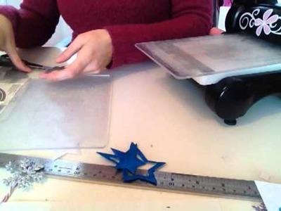 Scrapbooking : réaliser ses décorations de noël