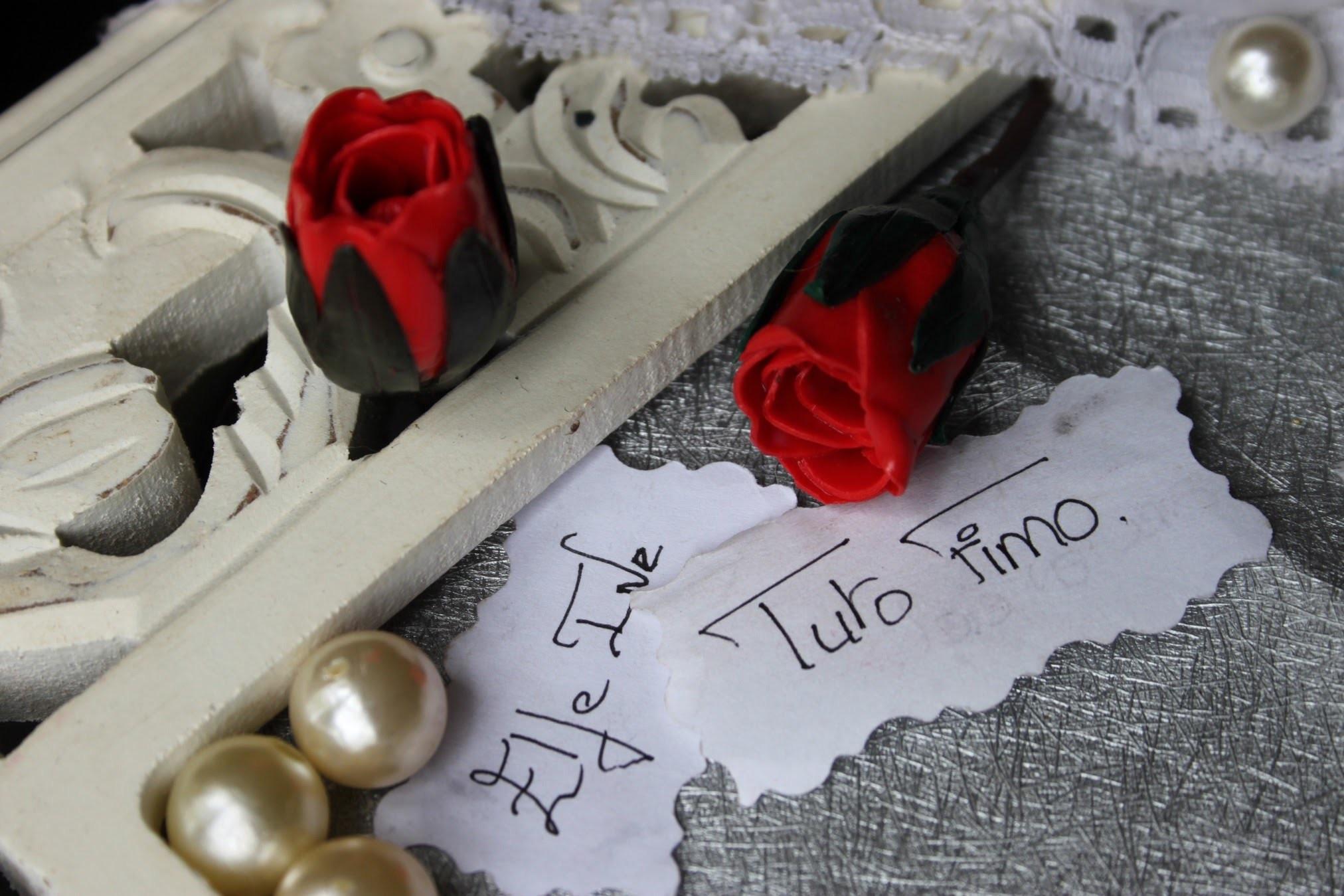 [♥✿ Tuto Fimo : Bouton de rose ✿♥] ~ [♥✿ Polymer Clay Tutorial : Rosebud ✿♥]