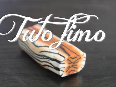 [♥✿ Tuto Fimo : Cane Tigre ✿♥] ~ [♥✿ Polymer Clay Tutorial : Cane Tiger ✿♥]