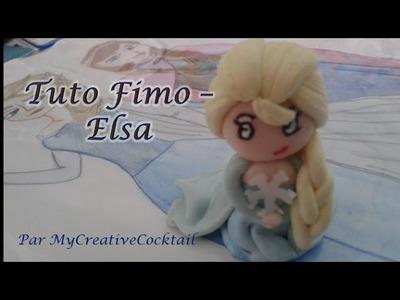 Tuto Fimo - Elsa. Polymer Clay Tutorial - Elsa (Frozen)