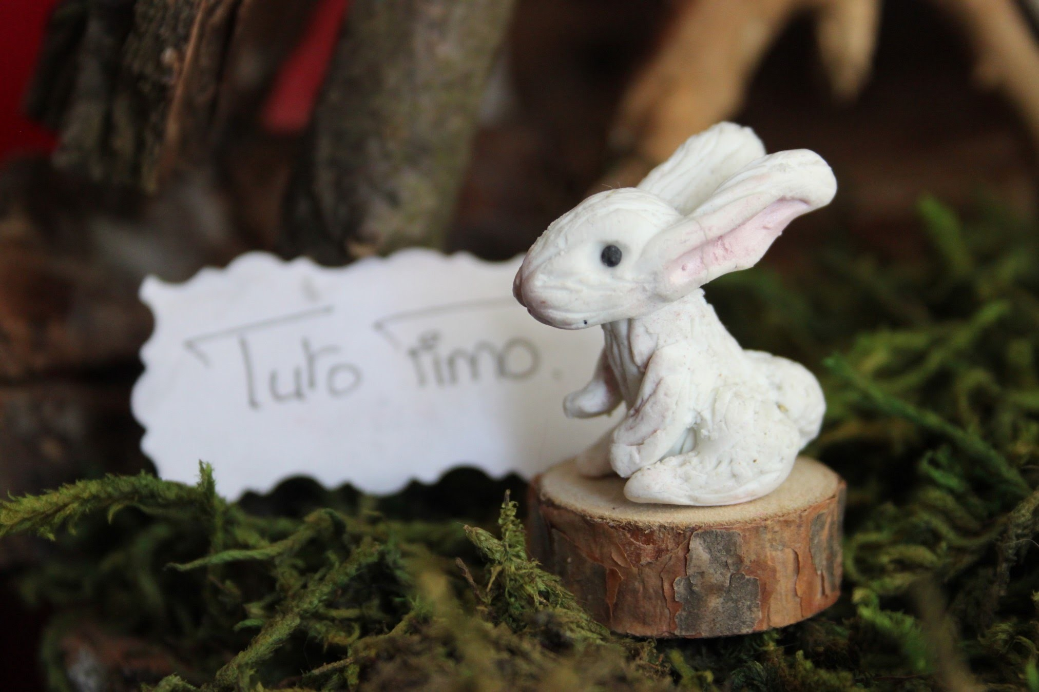 [♥✿ Tuto Fimo : Lapin.lièvre ✿♥] ~ [♥✿ Polymer Clay Tutorial : Rabbit.bunny ✿♥]