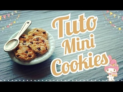 Tuto Fimo Mini Cookies |  Littles Cookies Polymer Clay Tutorial ♥