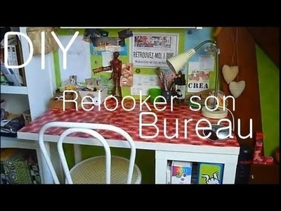 Tutoriel : Relooker un vieux bureau ou une table. Relook a desk or a table !