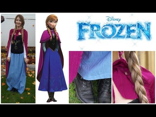 Anna de Frozen ❄ DIY Costume pour l'Halloween !