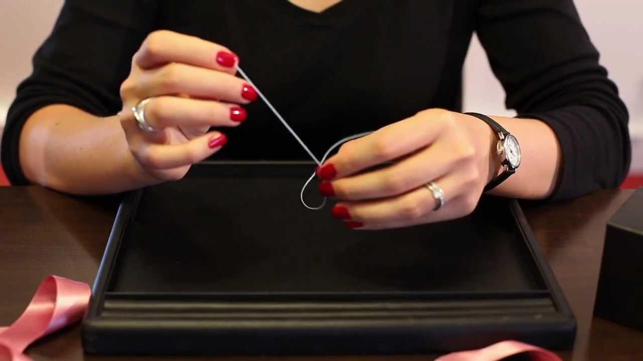 Atelier Adamence - Noeud coulissant pour bracelet
