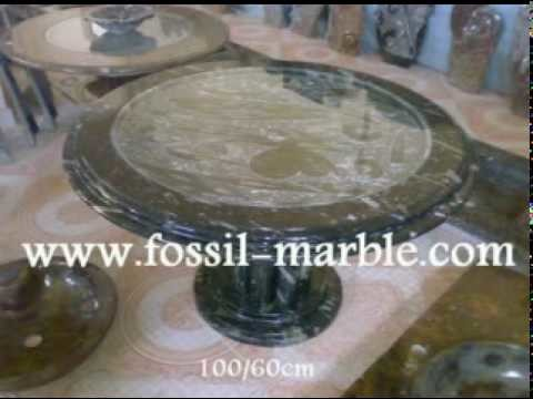 Best crafts fossilized marble tables sinks marrakech rissani erfoud morocco desert