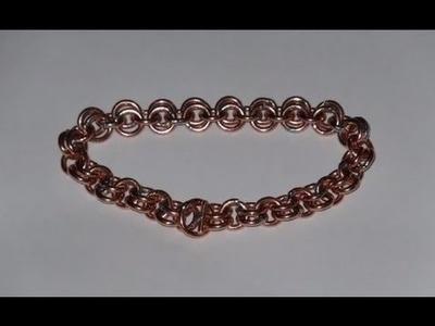 Bracelet en fil de cuivre